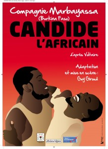 Affiche Candide l'Africain