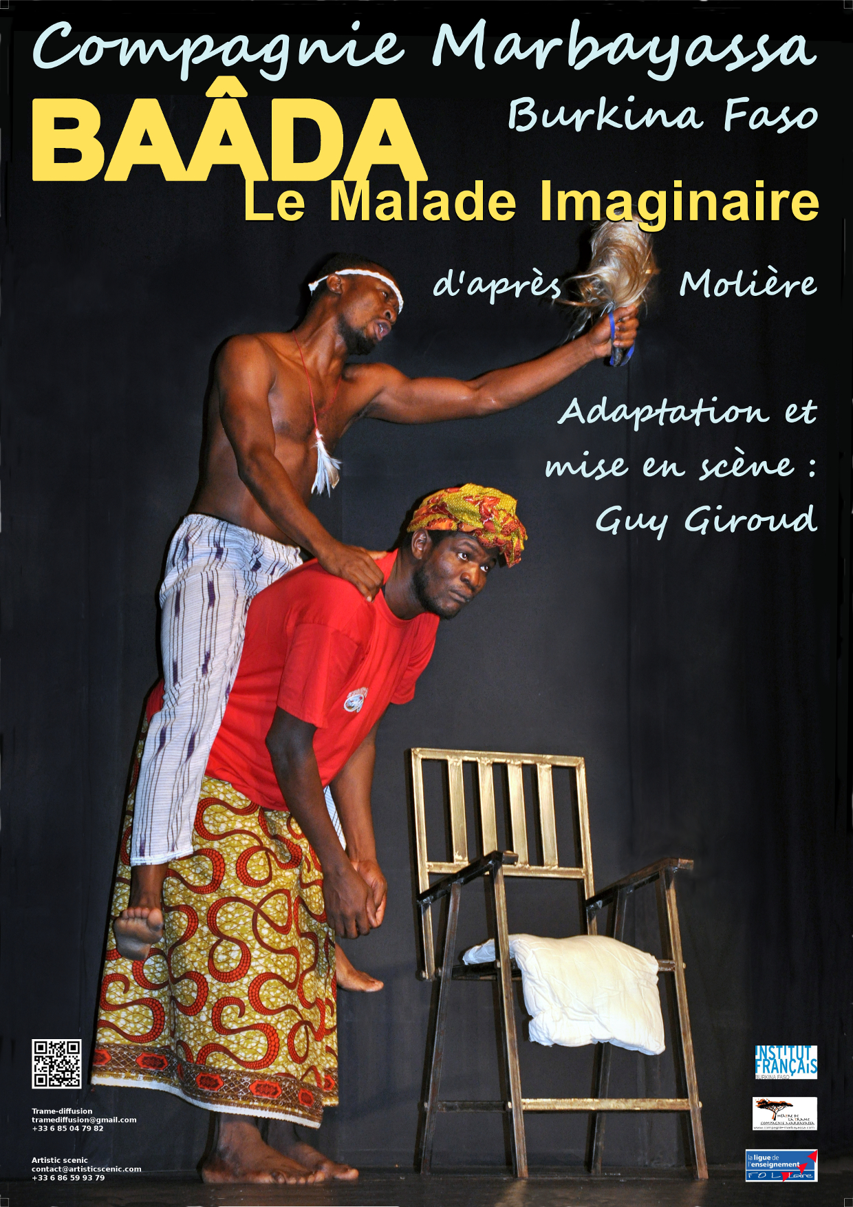 Affiche Malade imag.A4